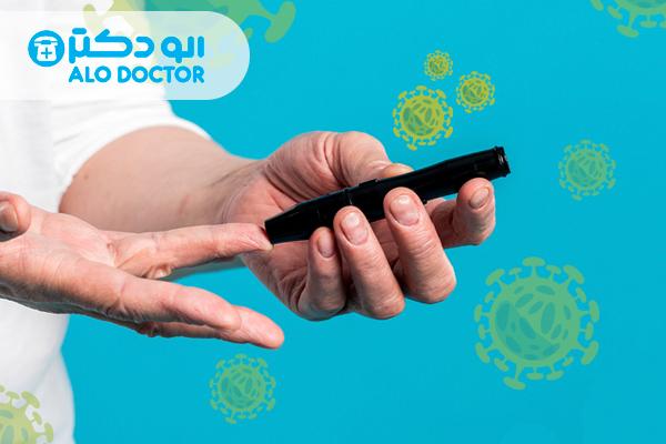 علائم کرونا در بیماران دیابتی