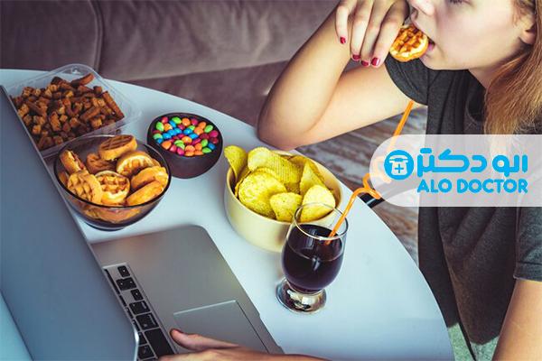 با استرس خوردن چه کنیم؟