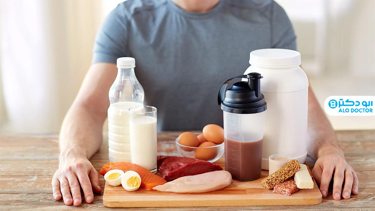 علائم کمبود پروتئین را بشناسید +عکس