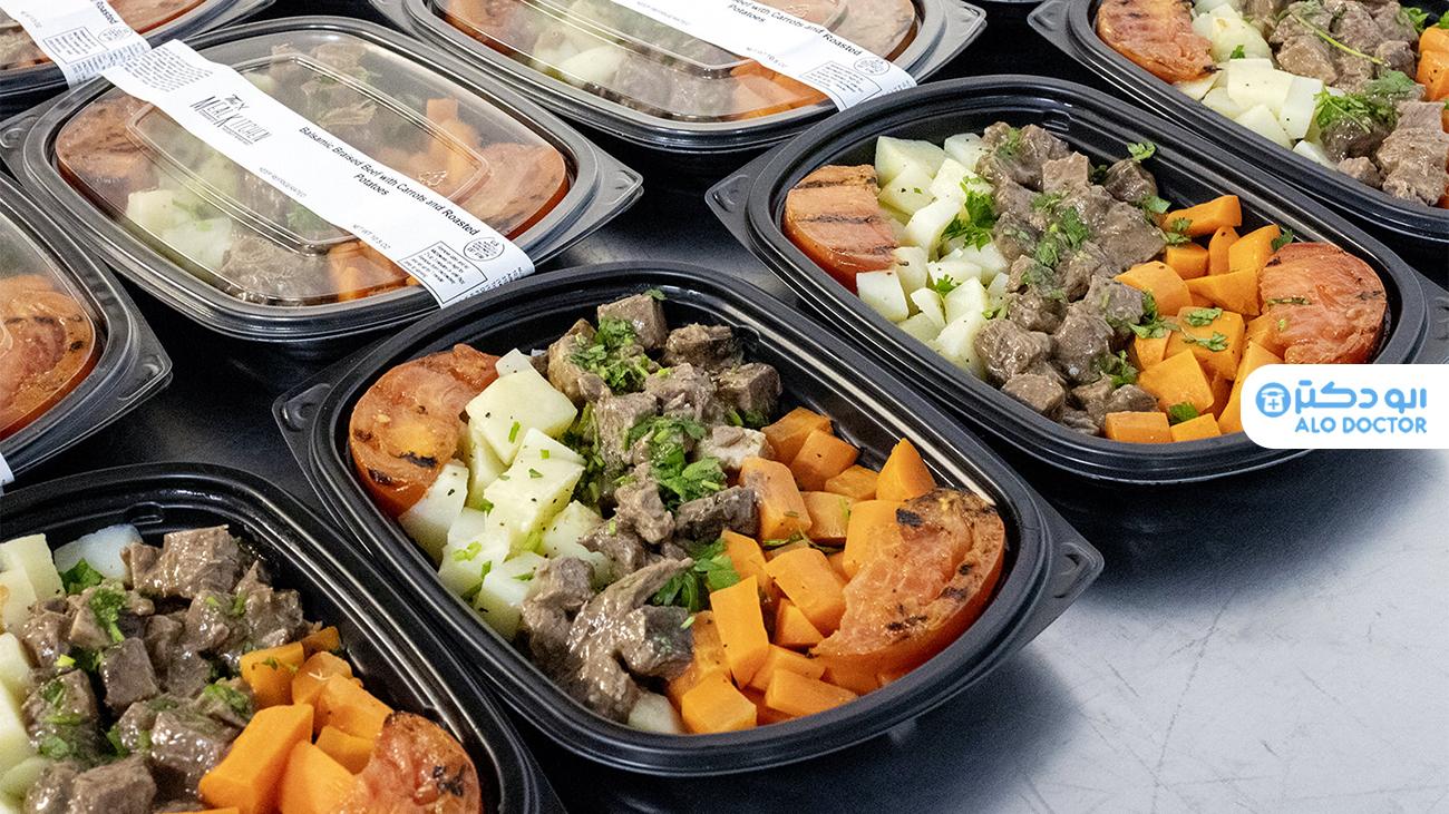 مضرات استفاده از غذاهای آماده و بسته بندی شده