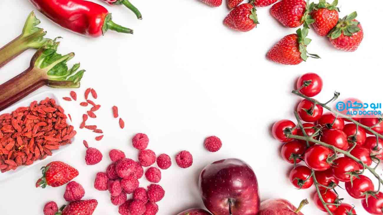 اثرات معجزه آسای میوه ها و سبزی های قرمز رنگ