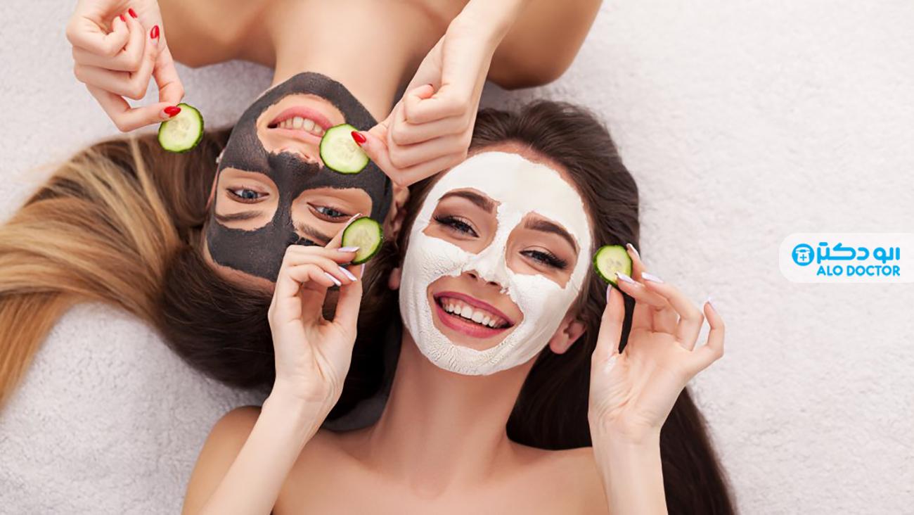 انواع ماسک های صورت خانگی + نحوه استفاده و درست کردن