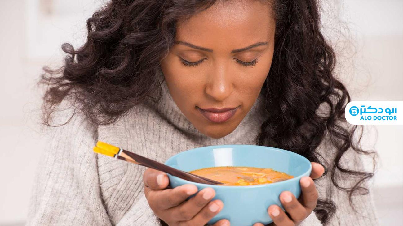 پس از تزریق واکسن کرونا سوپ بخورید