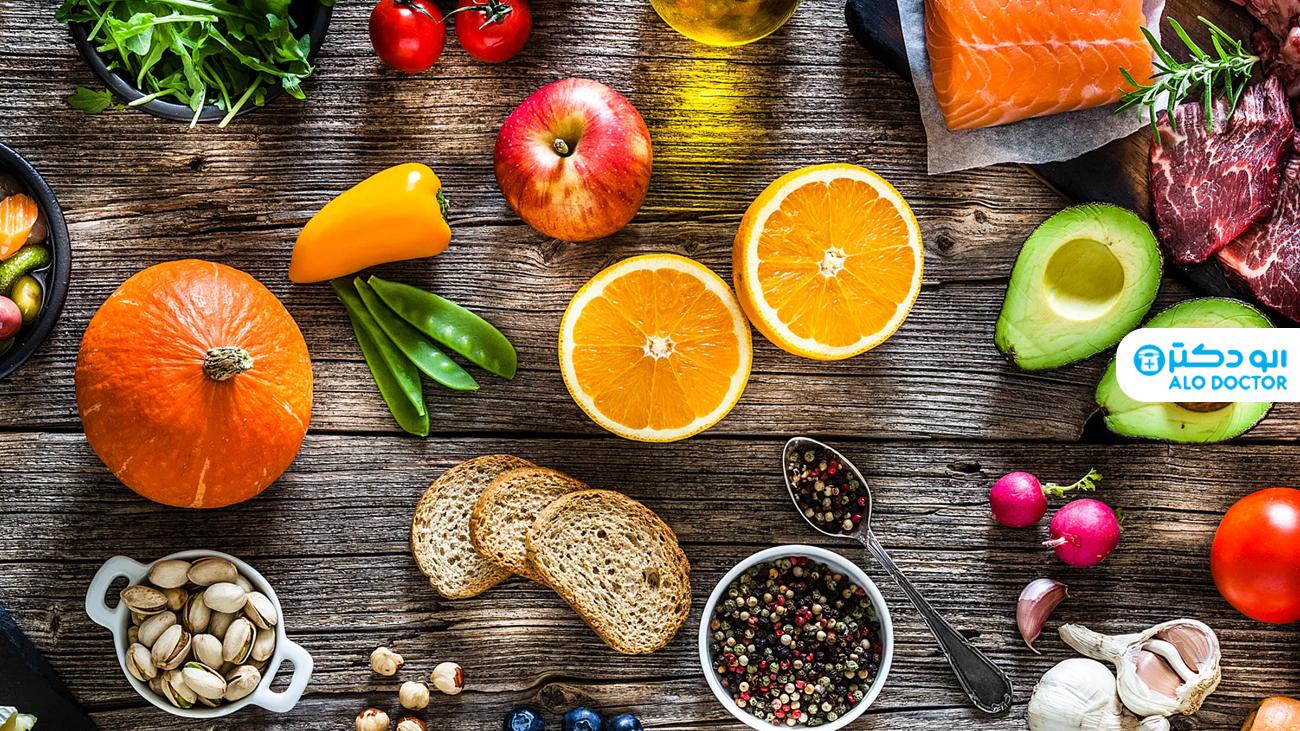 برنامه غذایی مفید هنگام ابتلا به کرونا