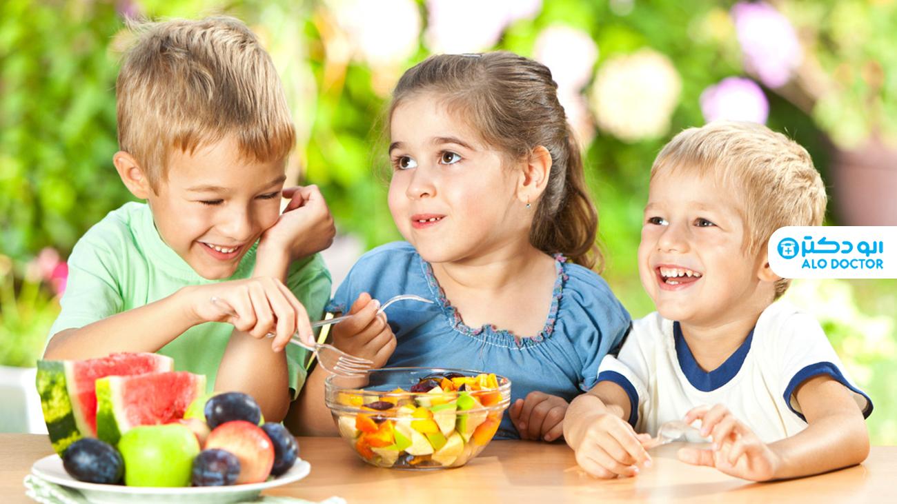 میان وعده های سالم و دوست داشتنی برای کودکان