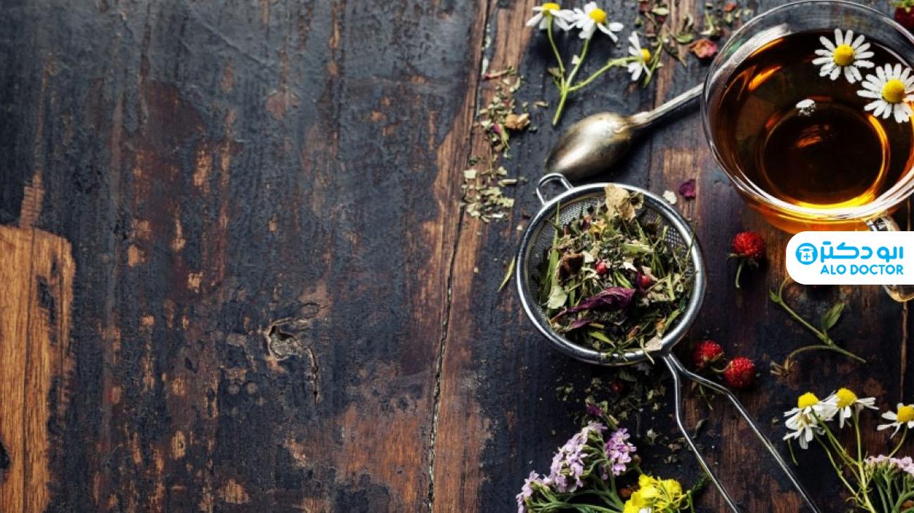 دمنوش های گیاهی برای کاهش نفخ