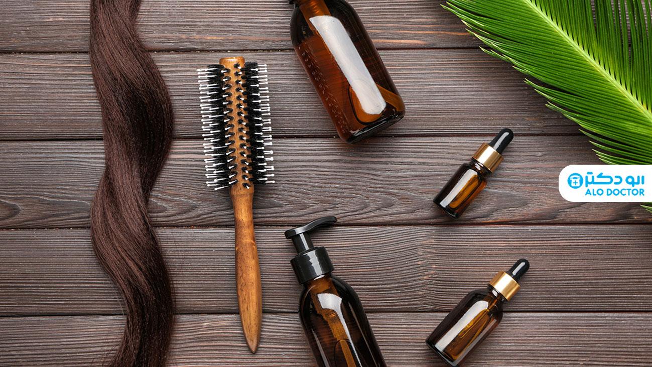 نحوه استفاده از گلیسیرین برای مو