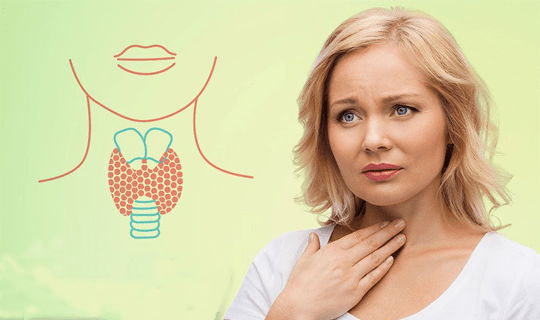 مشکلات تیروئیدی آیا با گلو درد همراه هستند؟