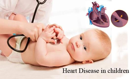 شایعترین بیماری های قلبی در کودکان چه بیماری هایی است؟