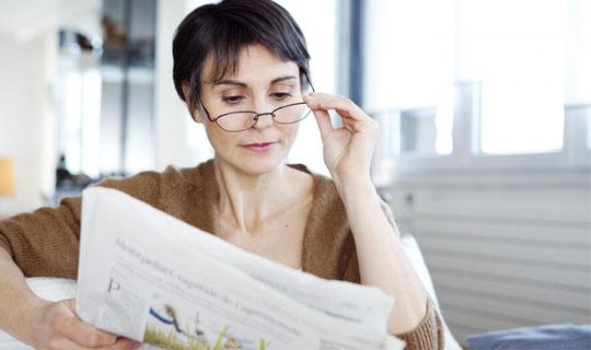 ضعیف شدن چشم ممکن است به دلیل استفاده از عینک مطالعه باشد؟
