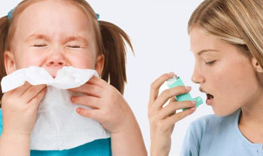 تفاوت آسم و آلرژی